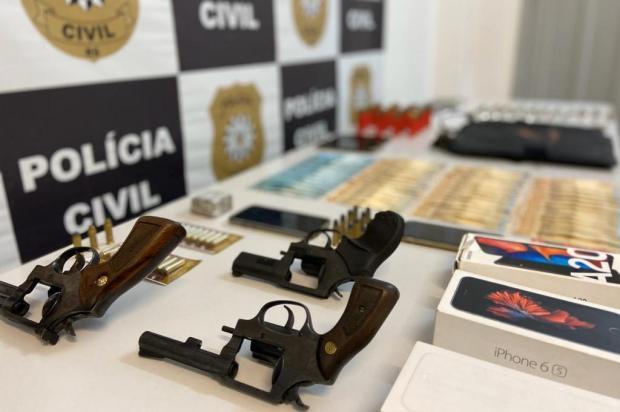 Em ofensiva contra facção, Polícia Civil prende sete em Caxias do Sul Polícia Civil/Divulgação