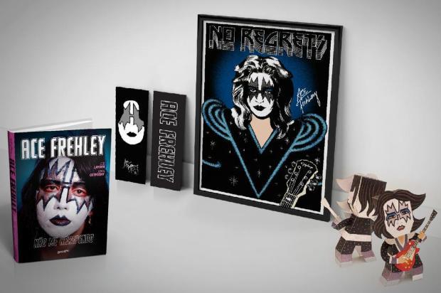 Editora caxiense Belas Letras lança livro de memórias de Ace Frehley no Brasil Belas Letras/Divulgação