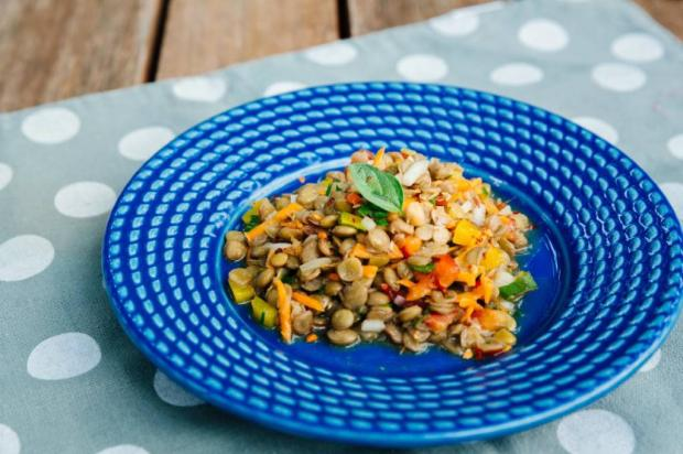 Refeição leve e saudável? Experimente salada de lentilha Omar Freitas / Agencia RBS/Agencia RBS