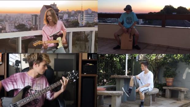 VÍDEO: banda Yellow Evening mostra primeiro clipe, resultado do distanciamento social Reprodução/