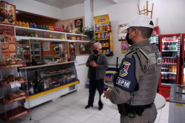Visitas ao comércio e base móvel: confira como fica o policiamento comunitário em Caxias do Sul Marcelo Casagrande/Agencia RBS
