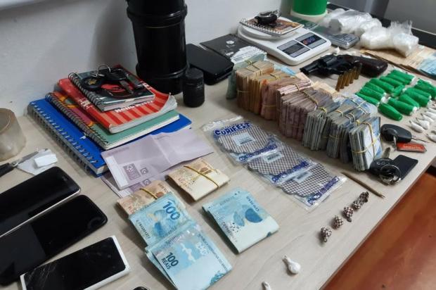 Polícia Civil desarticula esquema de telentrega que vendia 80 porções de drogas por dia em Bento Gonçalves Polícia Civil/Divulgação
