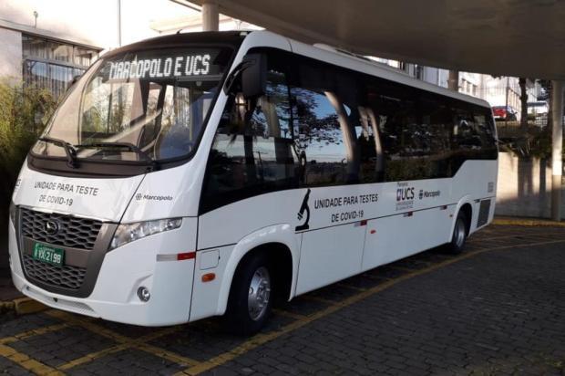 Com ônibus adaptado, UCS começa coleta itinerante para testes de coronavírus UCS/Divulgação