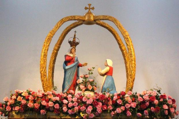Estátua de Nossa Senhora de Caravaggio visitará hospitais da Serra neste domingo Leandro Avila/Divulgação