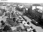 Anos 1950: nos tempos do footing pela Praça Dante Reno Mancuso,acervo pessoal Renan Carlos Mancuso/Divulgação