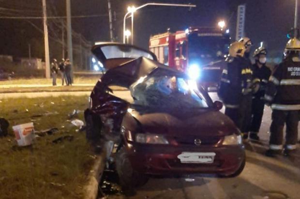 Motorista morre em acidente de trânsito na RSC-453, em Caxias do Sul Grupo Rodoviário da Brigada Militar/Divulgação