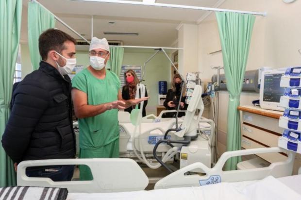 Eduardo Leite inaugura 10 novos leitos de UTI no Hospital Geral, em Caxias do Sul Felipe Dalla Valle/Palácio Piratini/Divulgação