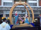 Estátua centenária de Nossa Senhora de Caravaggio visita hospitais da Serra Raquel Fronza/Divulgação