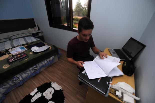 Sem aulas, alunos de Caxias se sentem despreparados para encarar vestibular e Enem Marcelo Casagrande/Agencia RBS