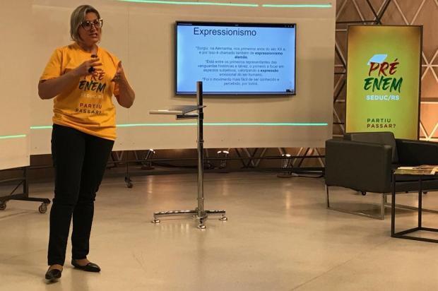 Professora de Nova Prata é a única representante da região no programa Pré-Enem Fernando Alencastro/Secom RS