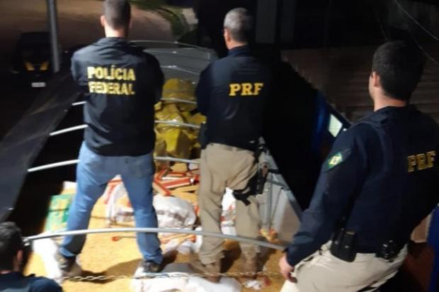 Motorista de Garibaldi é detido por transportar 28 toneladas de maconha, uma das maiores apreensões do Brasil, segundo PRF Polícia Rodoviária Federal/PRF