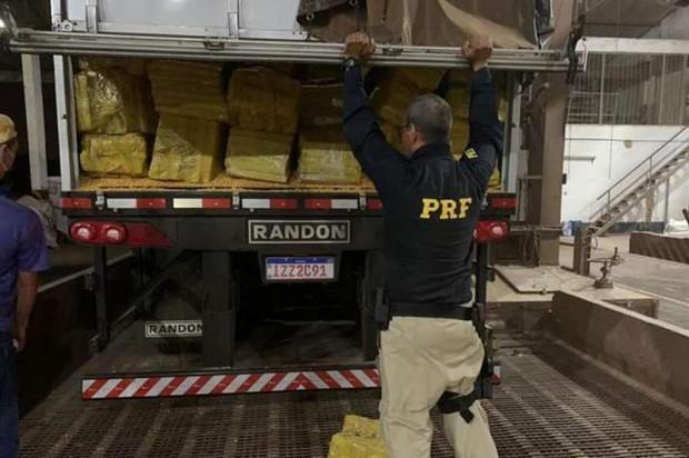 Uma das maiores apreensões de drogas do Brasil foi em rota conhecida por policiais da Serra Polícia Rodoviária Federal/Divulgação