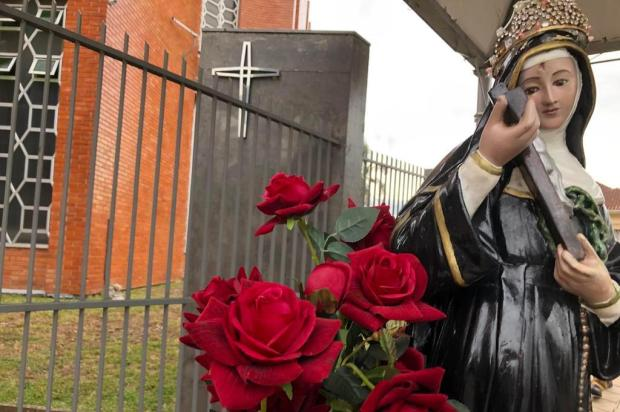 Celebrações de Santa Rita abençoam centenas de fiéis em Caxias do Sul Carolina Freitas/Jornal Pioneiro