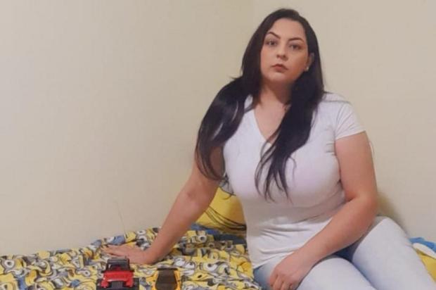 Longe da família: recuperada da covid-19, Andressa não vê o filho há mais de um mês em Caxias do Sul Arquivo pessoal/Divulgação