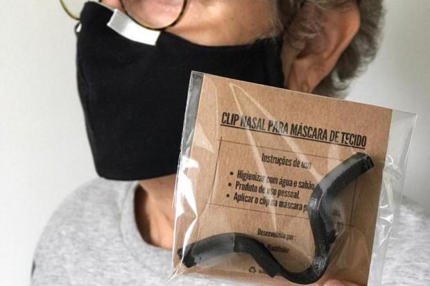 Combate ao vírus e aos óculos embaçados Carolina Klassen/Divulgação