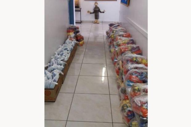 Fundação Marcopolo arrecada mais de sete toneladas de doações em dois meses Fundação Marcopolo/Divulgação