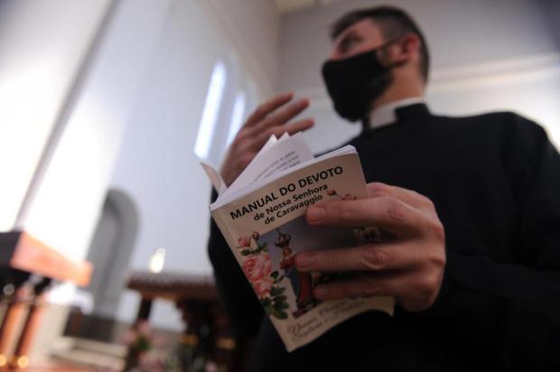 """""""Quando tudo isso passar, vamos acolher a todos com alegria"""", diz padre de Caravaggio Marcelo Casagrande/Agencia RBS"""