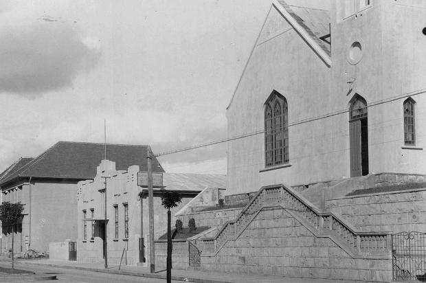 A chegada daCentral Telefônica Automática em 1940 Studio Geremia,Arquivo Histórico Municipal João Spadari Adami/Divulgação