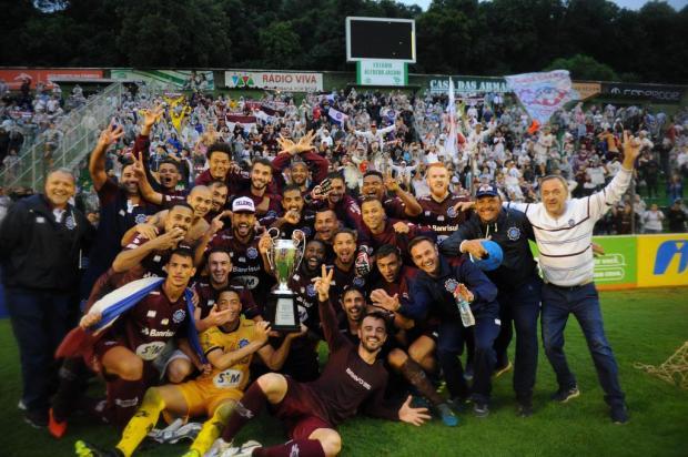 Clássicos marcantes: Caxias vence o Juventude por 3 a 0 no Jaconi Porthus Junior/Agencia RBS