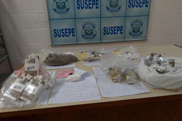 Nove pessoas são presas ao tentar entrar com drogas no presídio do Apanhador, em Caxias Susepe/Divulgação