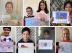 Crianças caxienses expressam, com desenhos, o que estão sentindo durante o distanciamento social Arquivo Pessoal/Arquivo Pessoal