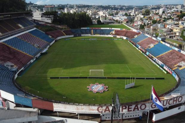 Caxias cobrará posição da prefeitura para retorno dos treinos Porthus Junior/Agencia RBS