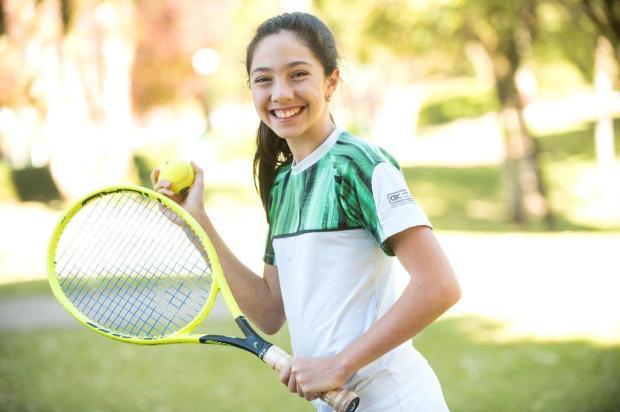 Pequena notável: conheça Pietra Rosolen Rivoli, que aos 12 anos já coleciona uma série de conquistas esportivas Juliano Vicenzi/Divulgação