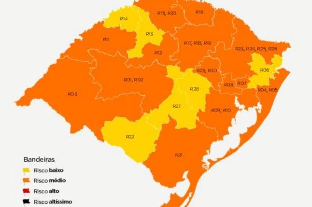 Serra Gaúcha segue com bandeira laranja em quarta rodada do distanciamento controlado Governo do RS/Divulgação