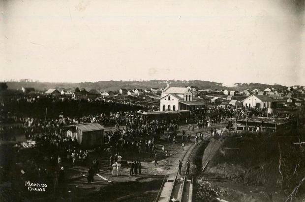 Domingos Mancuso e uma imagem de exatos 110 anos Domingos Mancuso/Divulgação