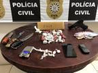Polícia Civil prende mulher responsável por abastecer pontos de venda de droga em Gramado Polícia Civil / Divulgação/Divulgação
