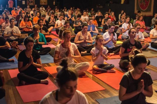 Encontro Yoga pela Paz promoverá uma semana de programação virtual em Caxias Candice Giazzon/Divulgação