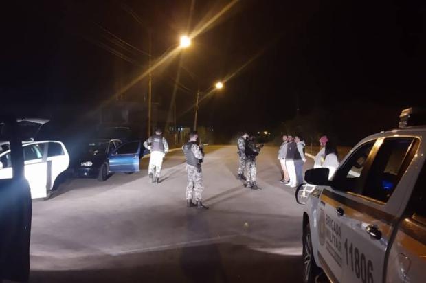 PMs focados em evitar aglomerações e algazarras em Farroupilha Brigada Militar / Divulgação/Divulgação