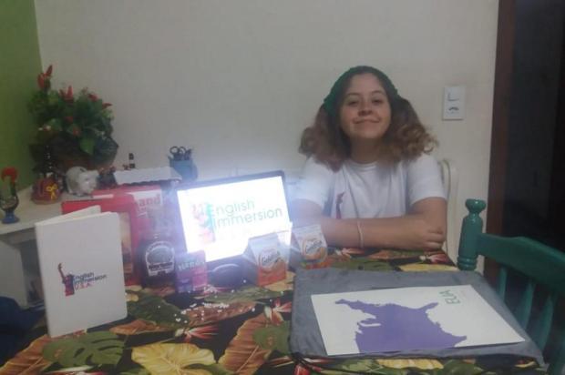 Estudante de Canela foi semifinalista do programa jovem embaixador Arquivo Pessoal/Vitória Régia Campos Krummenauer