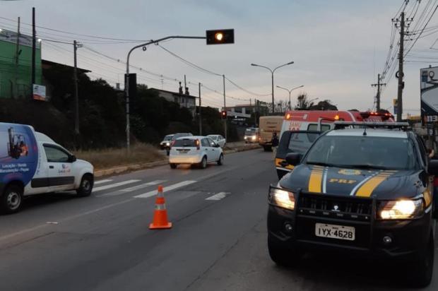 Homem fica gravemente ferido em atropelamento na BR-116, em Caxias do Sul PRF/Divulgação