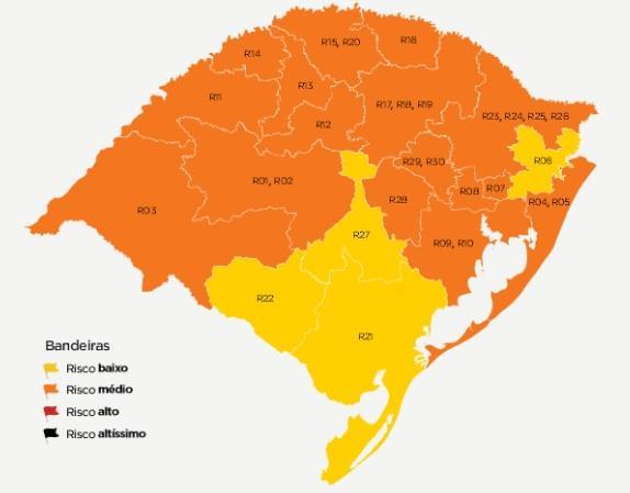 Serra mantém bandeira laranja após cinco rodadas do distanciamento controlado Reprodução / Governo do Estado/Governo do Estado
