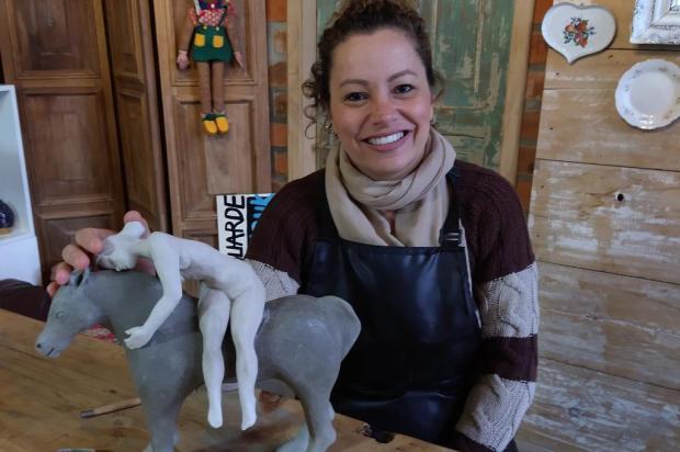 A arte não para #1: esculturas e desenhos refletem o que Daniela Antunes vê e sente no isolamento Acervo pessoal/Divulgação