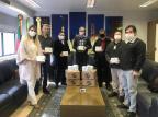 Empresa doa mil testes rápidos para a campanha Caxias Contra a covid-19 Prefeitura de Caxias do Sul / Divulgação/Divulgação
