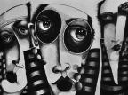 Exposição na Galeria Arte Quadros, em Caxias do Sul, traz 60 desenhos inéditos de Victor Hugo Porto Reprodução/Divulgação
