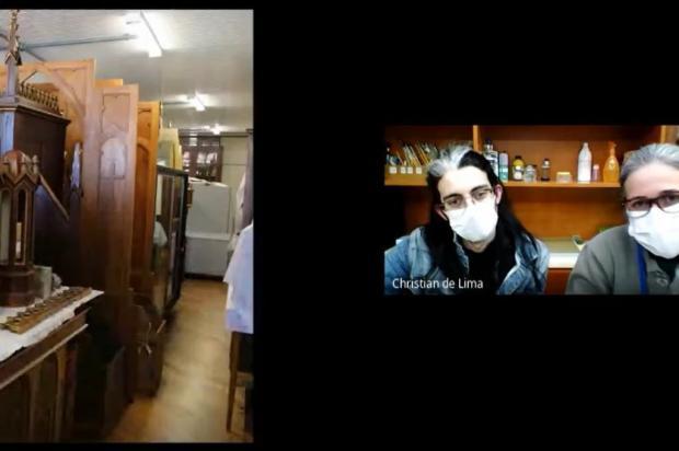 Museu dos Capuchinhos, em Caxias, mantém atendimentos de forma virtual Reprodução/Divulgação