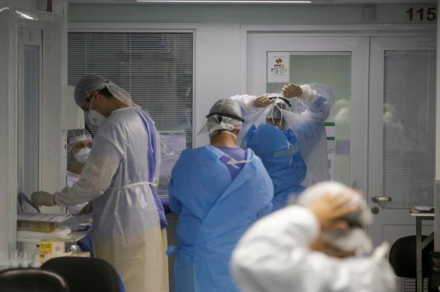 Pesquisa sobre saúde mental de profissionais da linha de frente ao combate à covid em Caxias tem prazo estendido André Ávila/Agencia RBS