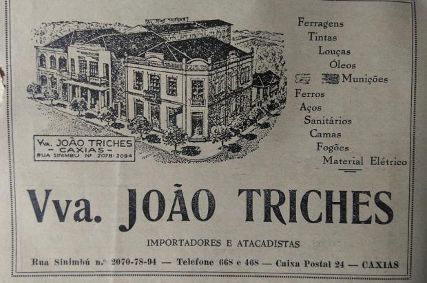 Indústrias e comércios de Caxias em anúncios de 1943 Revista Vida Policial / Divulgação/Divulgação
