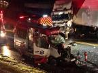 Três pessoas ficam feridas em acidente na BR-470 em Garibaldi Altamir Oliveira/Rádio Estação