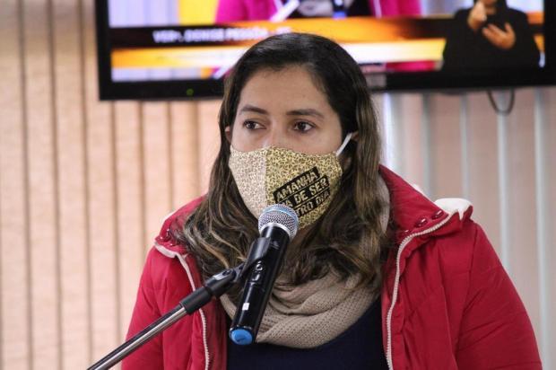 """""""Qual vida não é importante?"""", reage vereadora diante de declaração do prefeito de Caxias do Sul Gabriela Bento Alves/Divulgação"""