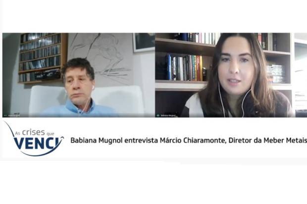 As crises que venci: acompanhe entrevista com Marcio Chiaramonte YouTube Pioneiro / Reprodução/Reprodução