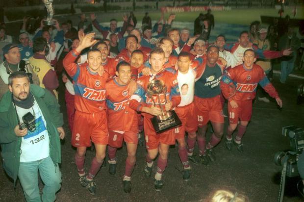 Saiba os números da campanha do Caxias campeão gaúcho em 2000 Porthus Junior/Agencia RBS