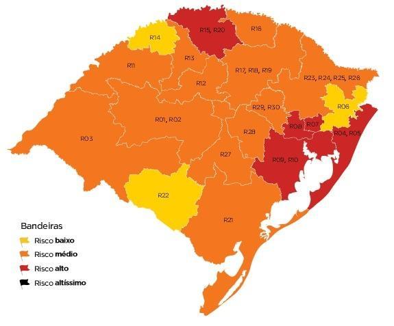 O que fez a Serra retornar à bandeira laranja Governo do RS / Divulgação/Divulgação
