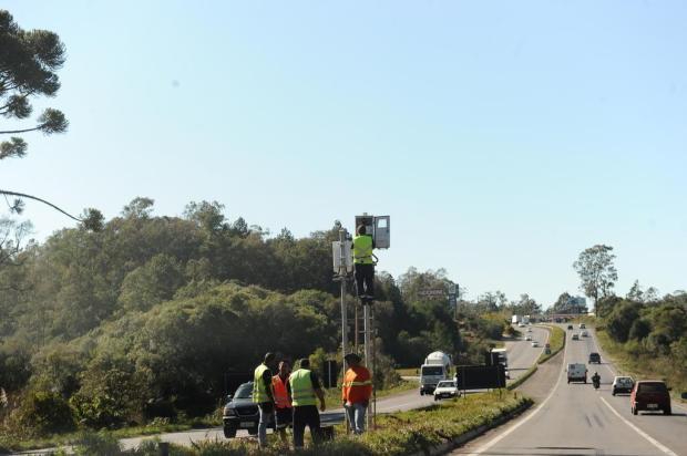 Pardais já voltaram a algumas rodovias da região Antonio Valiente/Agencia RBS
