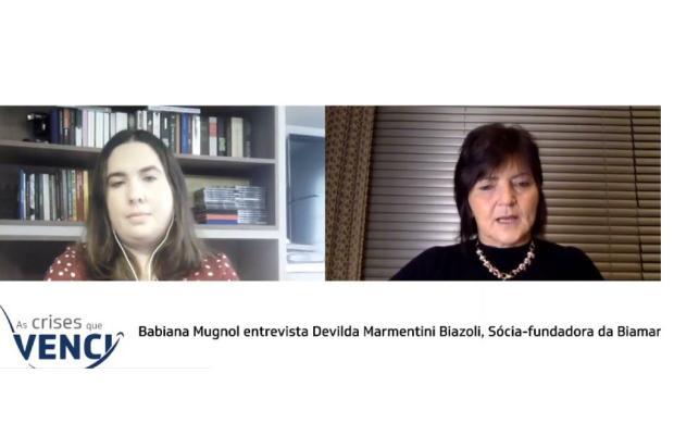 As crises que venci: acompanhe entrevista com Devilda Biazoli YouTube Pioneiro / Reprodução/Reprodução