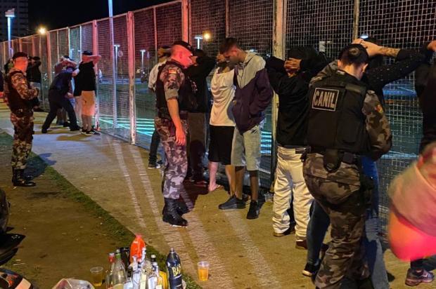 BM já autuou 40 situações de descumprimento das medidas contra pandemia em Caxias do Sul Brigada Militar / Divulgação/Divulgação