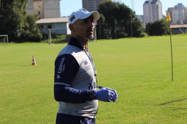 Preparador físico do Caxias analisa retomada dos treinamentos Vitor Soccol Dinâmica Conteúdo/Divulgação